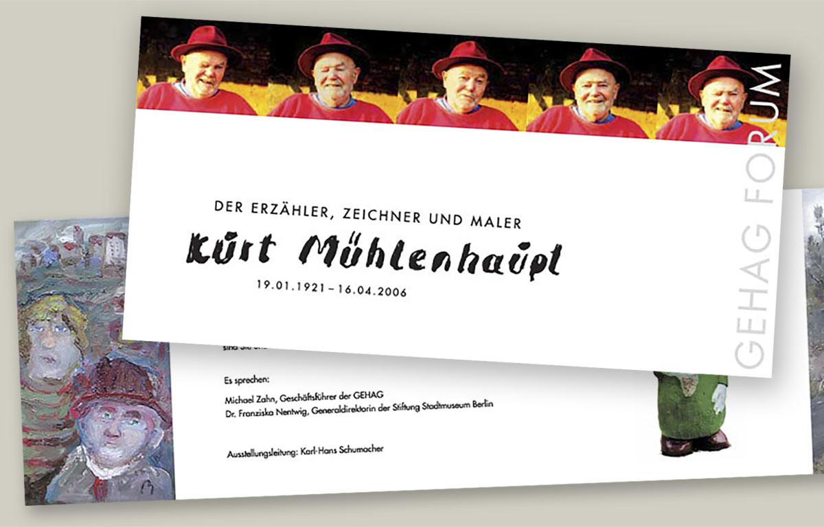 Einladung Kurt Mühlenhaupt